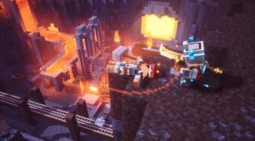 Imagen de Minecraft Dungeons muestra su propuesta jugable en un nuevo y extenso gameplay