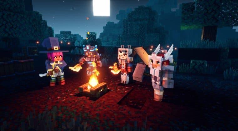 Imagen de Minecraft Dungeons vuelve a lucirse en un extenso gameplay