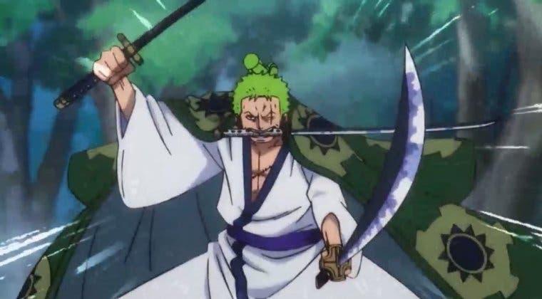 Imagen de Así luciría Zoro, de One Piece, en el universo de The Witcher