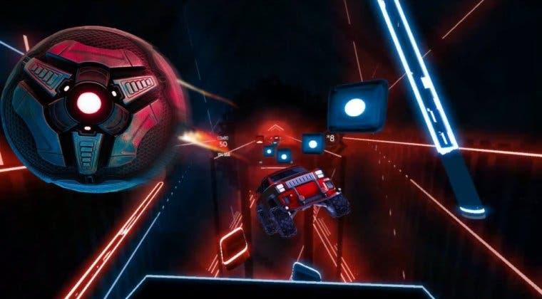 Imagen de Beat Saber y Rocket League anuncian una colaboración que llevará más contenido a ambos juegos