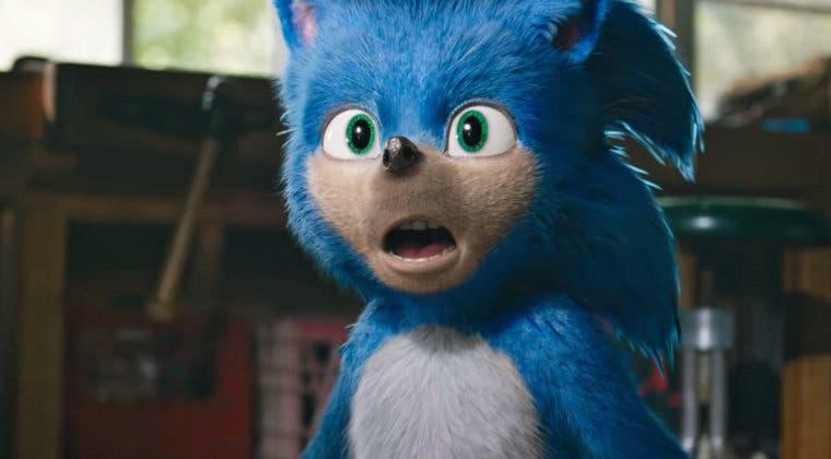 Imagen de Se filtra una nueva imagen del rediseño de Sonic para su película