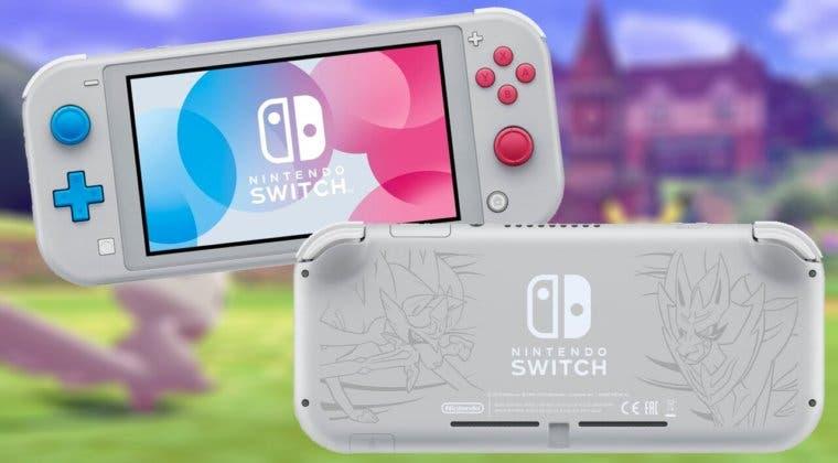 Imagen de Sorteamos una Nintendo Switch Lite Limitada Edición Zacian y Zamacenta