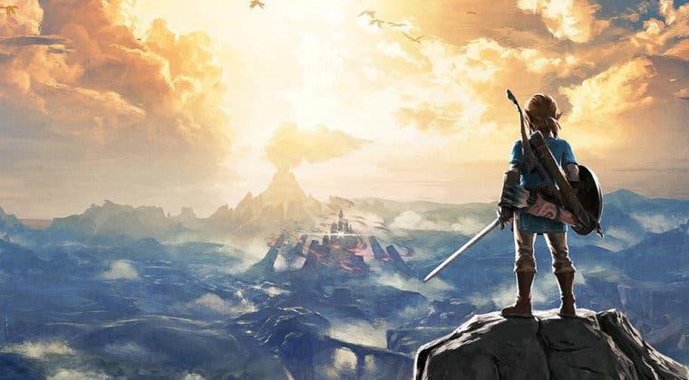 Imagen de Una tienda lista Zelda: Breath of the Wild 2 junto a su edición coleccionista