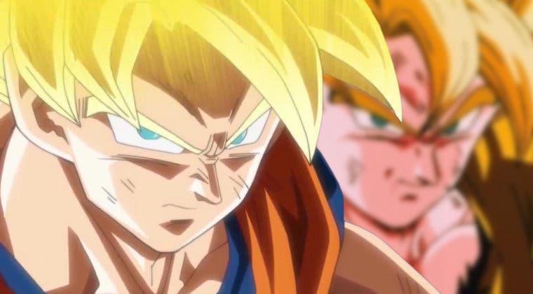 Imagen de Así sería en Dragon Ball Z el Goku SSJ de Dragon Ball Super