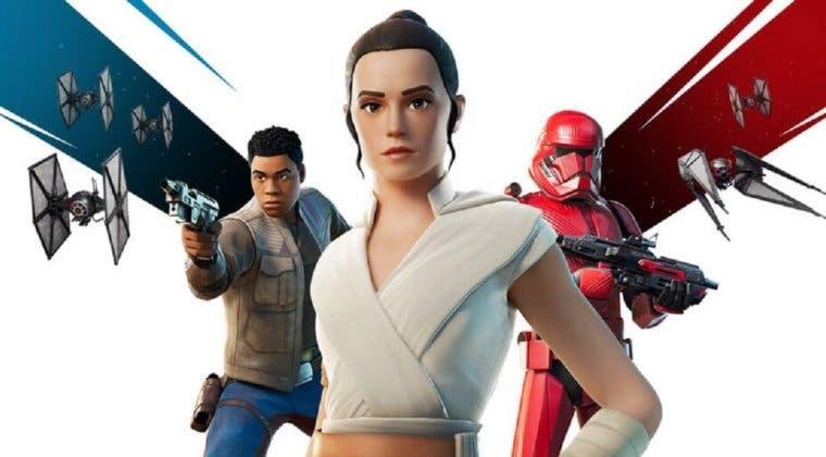 Imagen de Ya disponible en Fortnite el contenido de Star Wars: El Ascenso de Skywalker