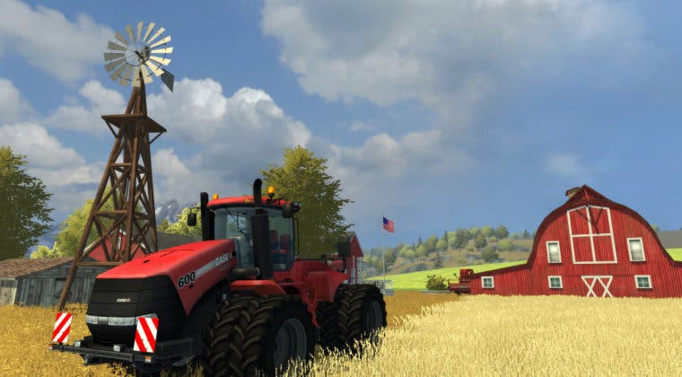 Imagen de Farming Simulator 20 celebra su lanzamiento en Nintendo Switch, iOS y Android con un nuevo tráiler