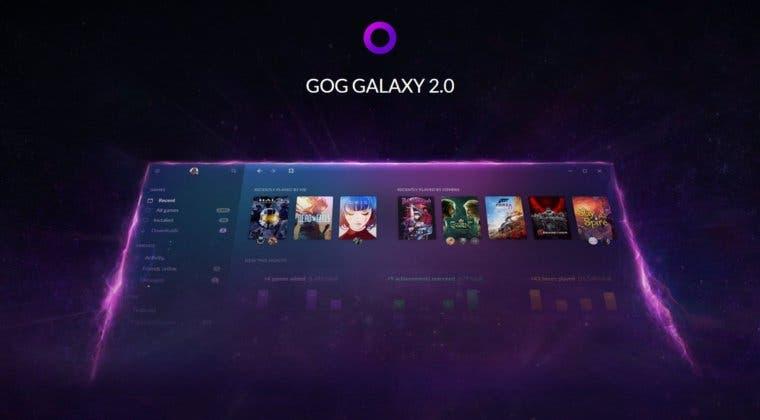 Imagen de GOG Galaxy 2.0, el launcher de CD Projekt RED, entra en su beta abierta