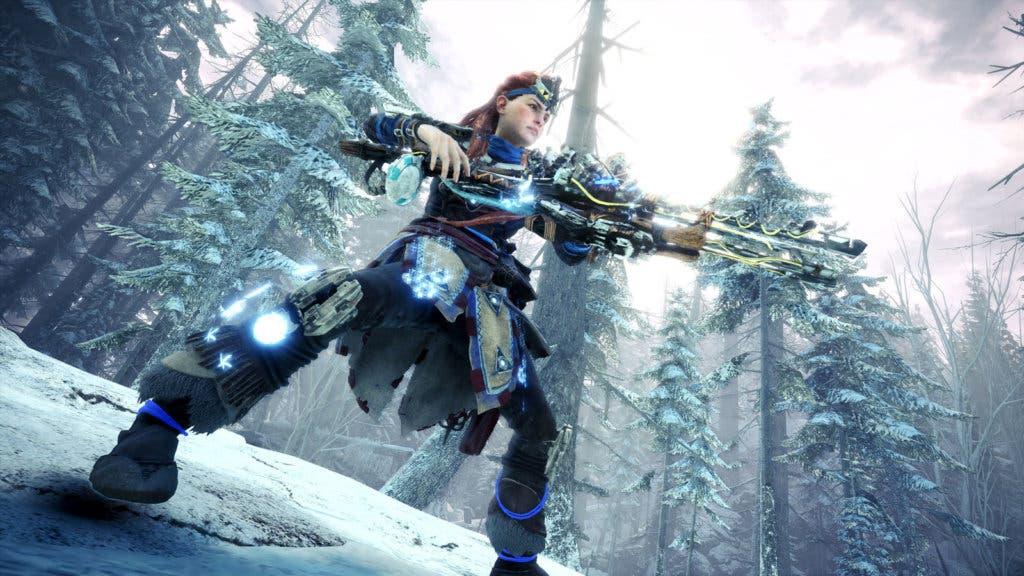 Monster Hunter Iceborne Horizon Zero Dawn