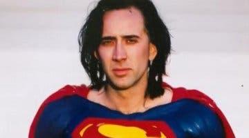 Imagen de Nicolas Cage podría haber hecho de Superman en Crisis en Tierras Infinitas
