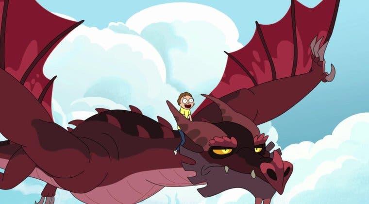 Imagen de Crítica de Rick y Morty 4x04: orgía draconiana y el gato parlanchín