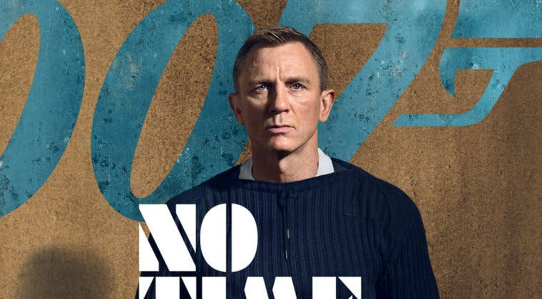 Imagen de Sin tiempo para morir glorifica a James Bond en sus primeros pósteres oficiales