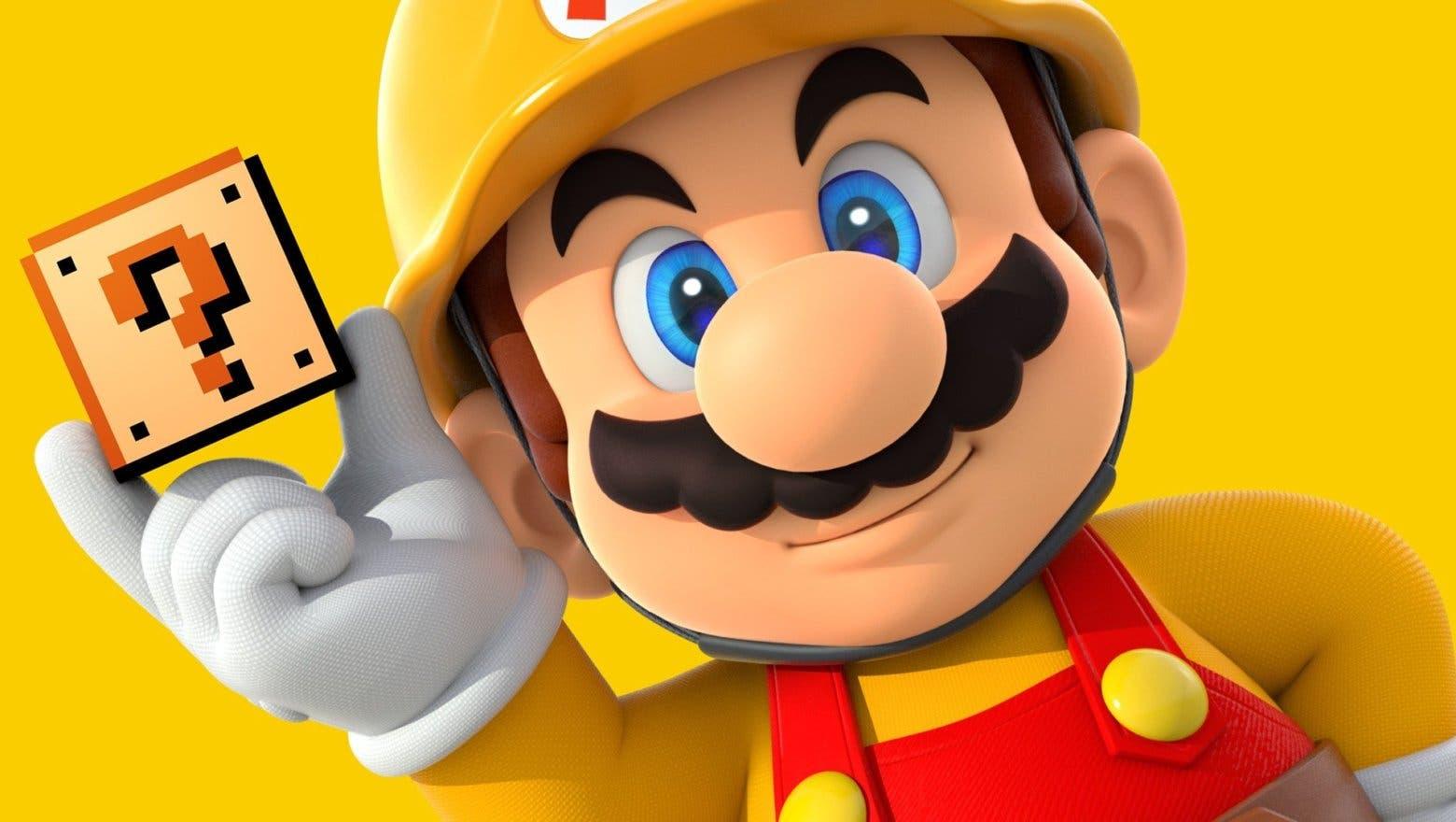 Imagen de Super Mario Maker 2 detalla los contenidos de su parche 2.0
