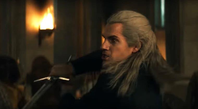 Imagen de Geralt de Rivia combate en el explosivo nuevo clip de The Witcher