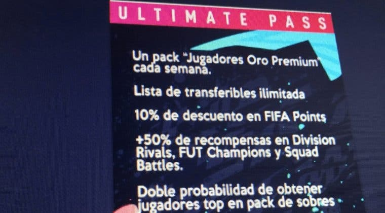 Imagen de Se filtra un Pase Premium para FIFA 20 Ultimate Team