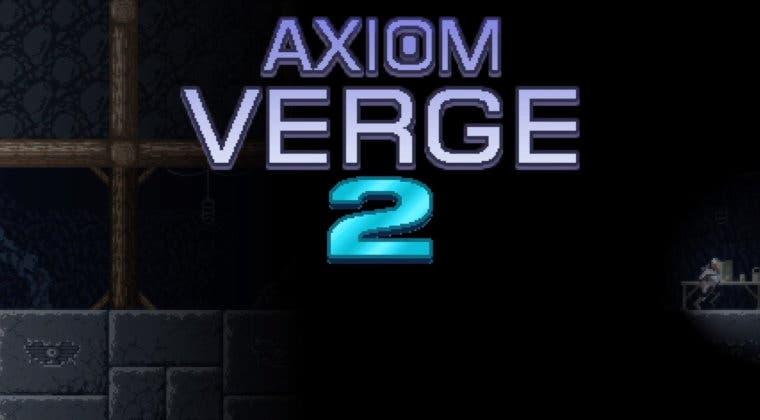 Imagen de Axiom Verge 2, la secuela del aclamado metroidvania, es oficial y desvela tráiler y ventana de lanzamiento