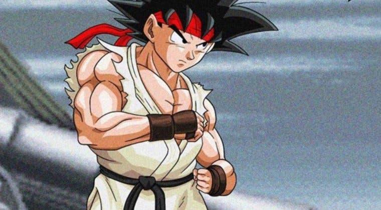 Imagen de Así de increíble sería Street Fighter con los protagonistas de Dragon Ball