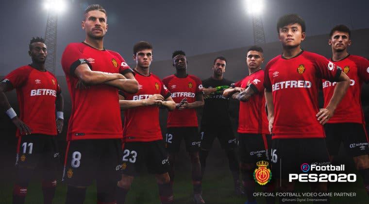 Imagen de El RCD Mallorca es el nuevo partner de eFootball PES 2020