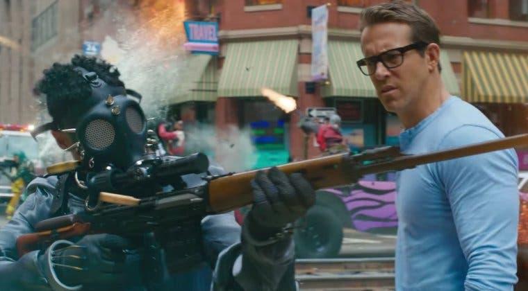 Imagen de Ryan Reynolds se corona como el rey de la parodia en el tráiler de Free Guy
