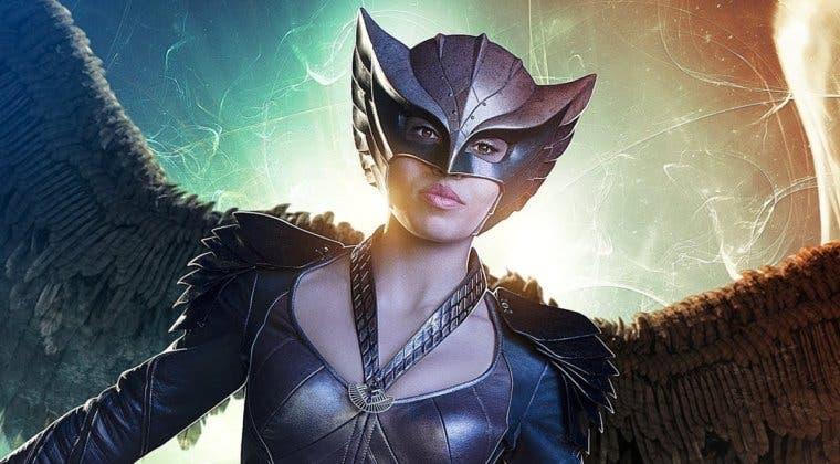 Imagen de Hawkgirl estará en Black Adam, la nueva película de Dwayne Johnson