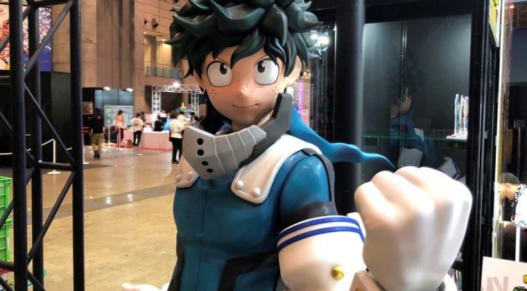 Imagen de My Hero Academia: Así es la increíble figura a tamaño real de Deku