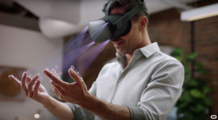 Imagen de El control con nuestras manos de Oculus Quest llegará esta semana