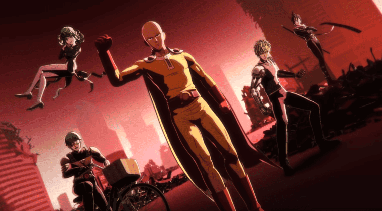 Imagen de One Punch Man: A Hero Nobody Knows muestra su espectacular cinemática inicial