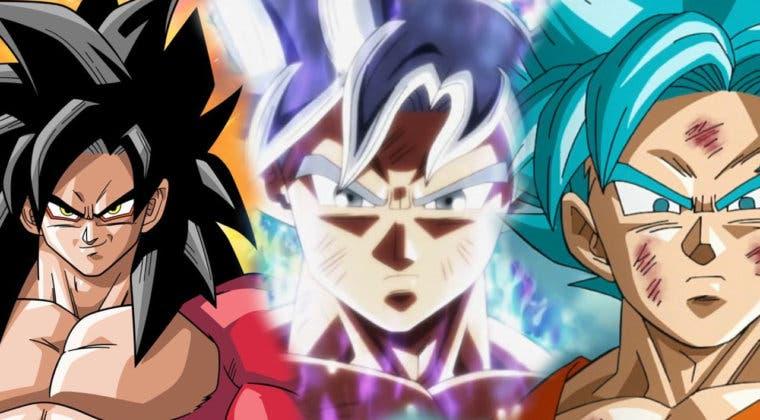 Imagen de Dragon Ball: Las 10 mejores transformaciones de Goku por diseño