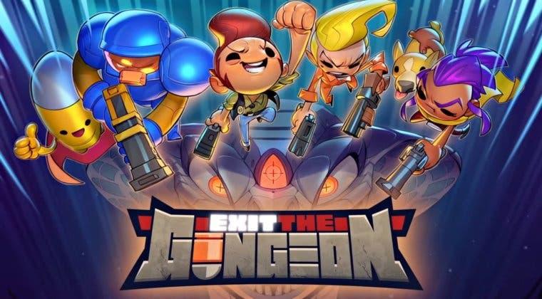 Imagen de Exit the Gungeon ya tiene ventana de lanzamiento en PC y consolas
