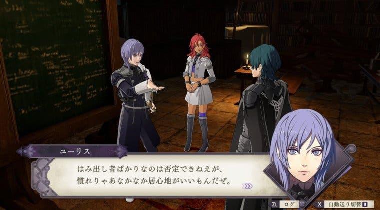 Imagen de Fire Emblem: Three Houses muestra a Yuri, personaje que llegará junto al DLC Cindered Shadows