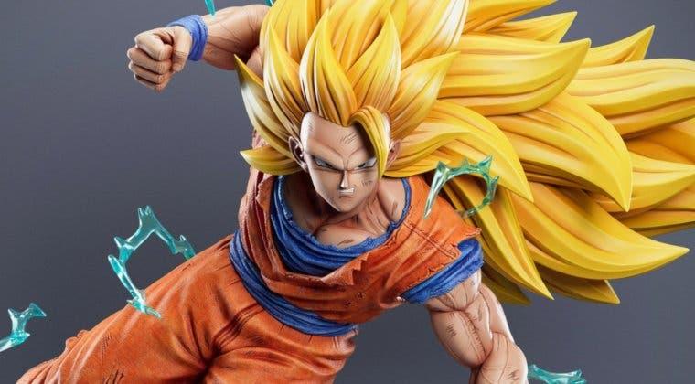 Imagen de Dragon Ball tiene una nueva figura de Goku SS3 que te enamorará si la ves