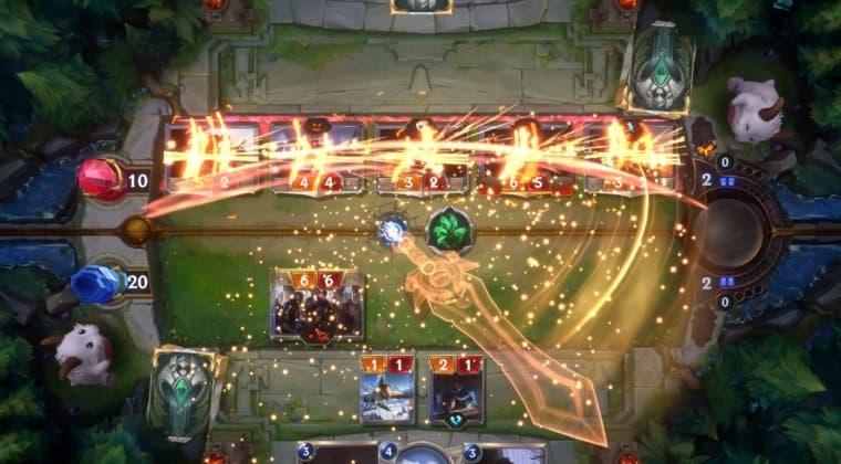 Imagen de Legends of Runeterra, el juego de cartas de LoL, fecha el inicio de su beta abierta