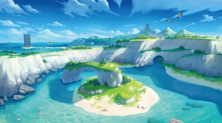 Imagen de Pase de Expansión de Pokémon Espada y Escudo: Este es el tamaño de la Isla de la Armadura