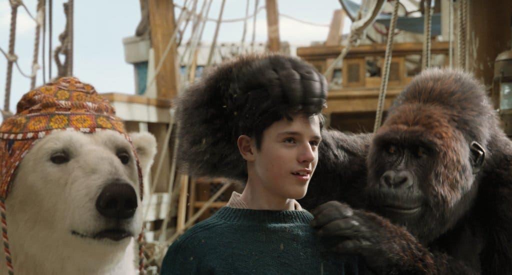 """Los animales están muy bien realizados en """"Las aventuras del Dr. Dolittle""""."""