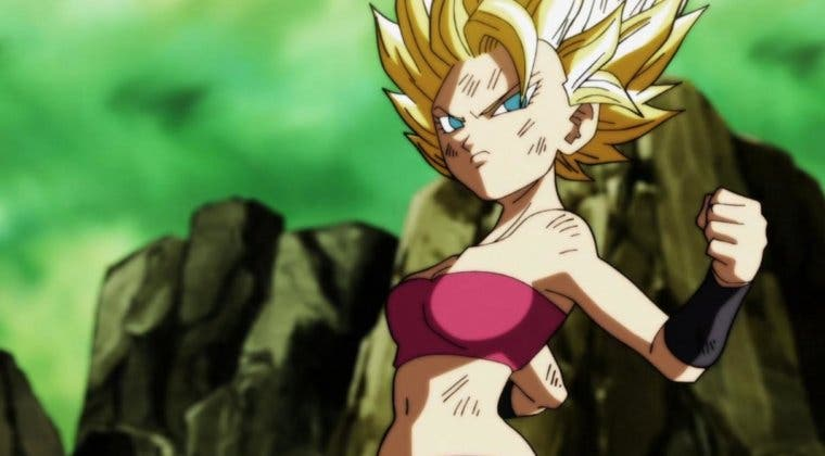 Imagen de Imaginan a Caulifla, de Dragon Ball Super, en Dragon Ball Z