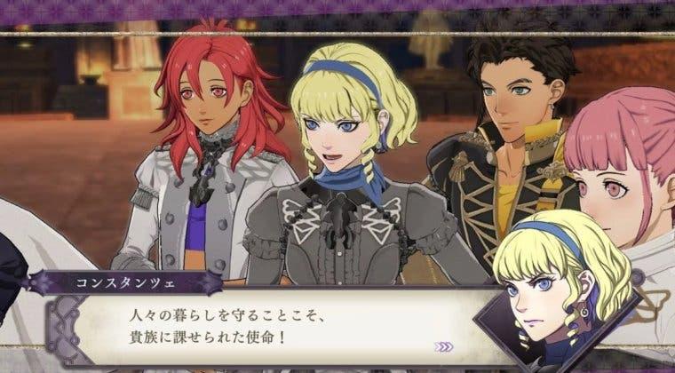 Imagen de Fire Emblem: Three Houses presenta a Constance, otro de los nuevos personajes de 'Cindered Shadows'