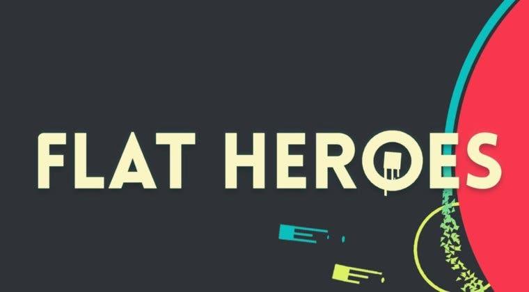 Imagen de El videojuego español Flat Heroes llegará pronto a PlayStation 4