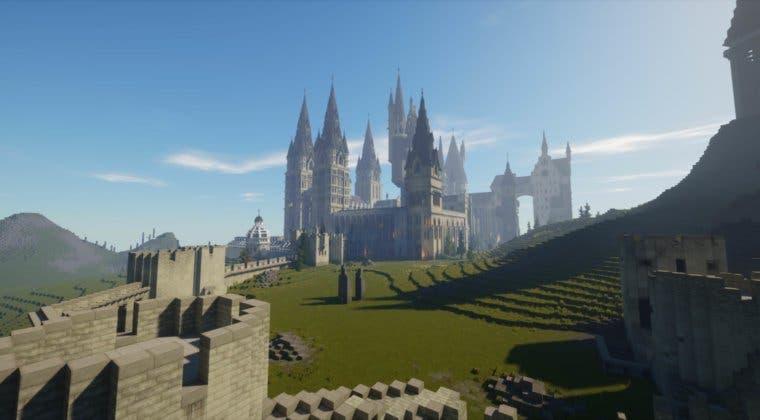 Imagen de Recrean el universo de Harry Potter al detalle en Minecraft