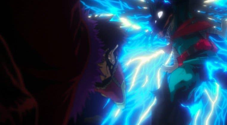 Imagen de My Hero Academia: Hallan referencias a One Punch Man y Dragon Ball en Deku 'transformado'