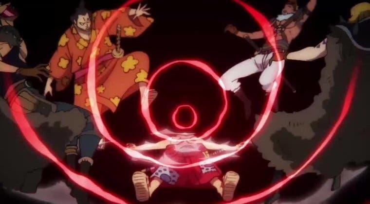 Imagen de Luffy hace gala de su espíritu inquebrantable tras ser derrotado por Kaido