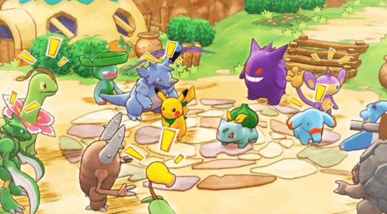 Imagen de Pokémon Mundo Misterioso:  Equipo de Rescate DX anunciado y fechado como un remake de los originales