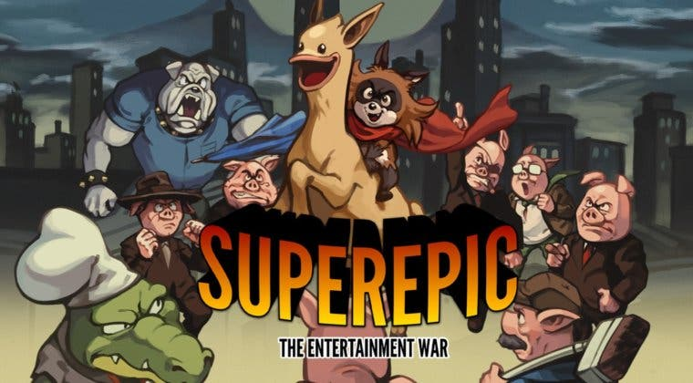 Imagen de El formato físico de SuperEpic: The Entertainment War llegará a PS4 y Switch en marzo