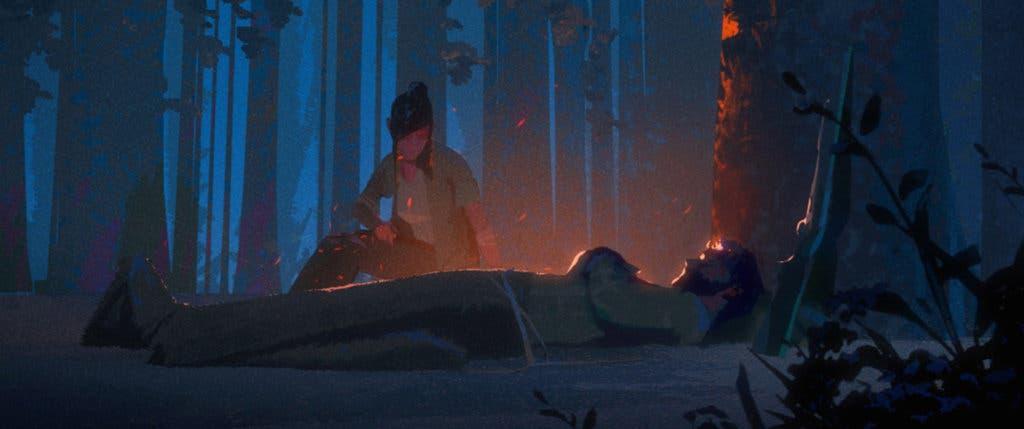 """Imagen de """"Anteriormente en The Last of Us"""" así iba a ser el corto que precedería a la secuela"""