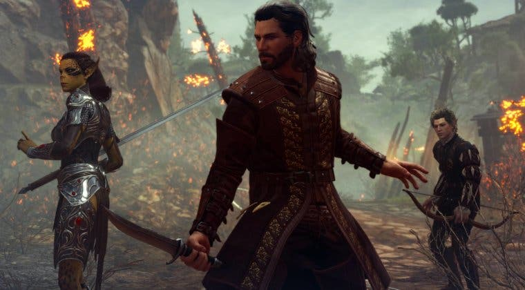Imagen de Baldur's Gate III: PS5 y Xbox Series X, combate, romances y más