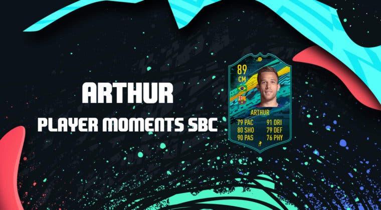 Imagen de FIFA 20: ¿Merece la pena Arthur Momentos? + Solución de su SBC
