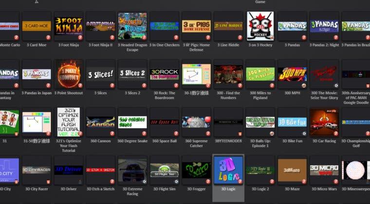 Imagen de Así es Flashpoint, la plataforma que recopila miles de juegos en Flash