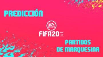 Imagen de FIFA 20: predicción partidos de marquesinas (09-07-2020)