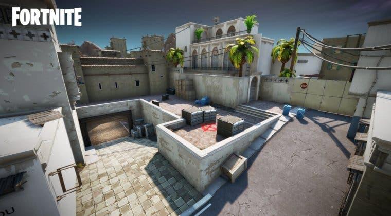 Imagen de Fortnite se fusiona con Counter-Strike gracias a este nuevo mapa de Dust 2