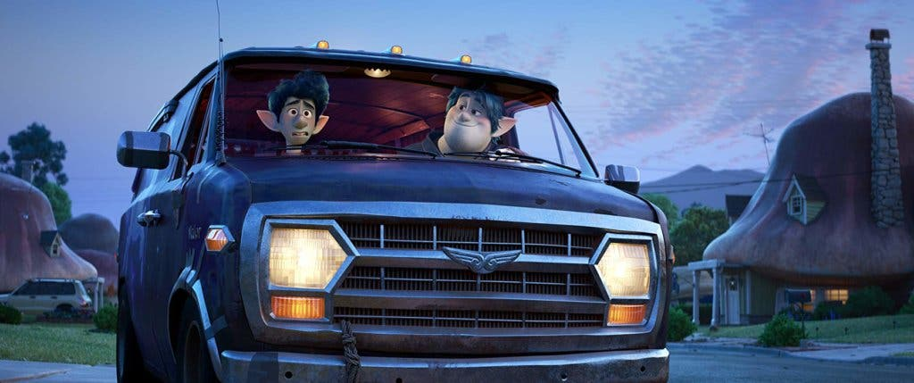 """Fotograma de la película """"Onward"""""""