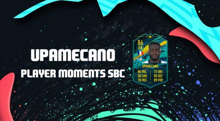 Imagen de FIFA 20: ¿Merece la pena Upamecano Momentos? + Solución de su SBC