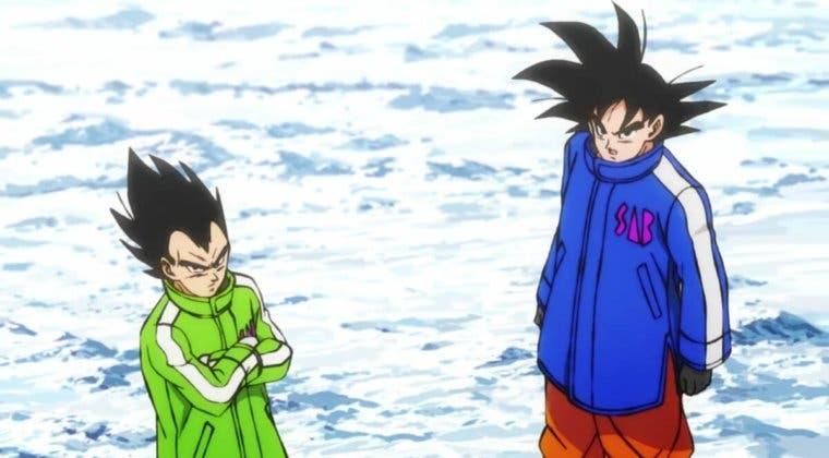 Imagen de Dragon Ball Heroes revela nuevos trajes para Goku y Vegeta con un tráiler
